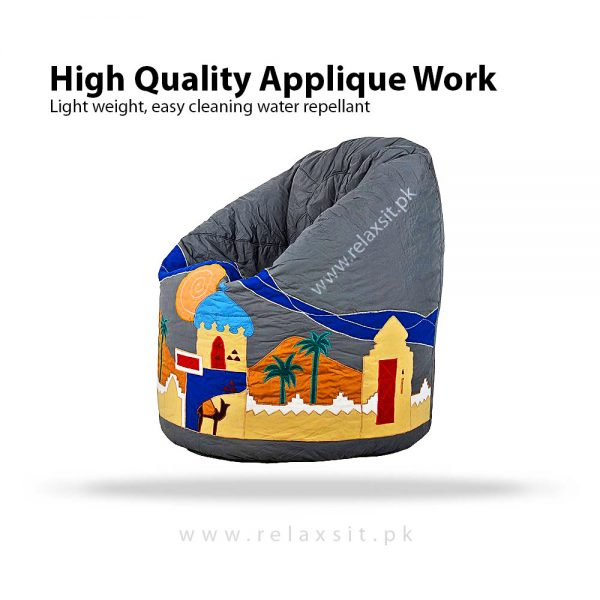Relaxsit-Products-04-01, Embroidered XL Bean Bags, www.relaxsit.pk