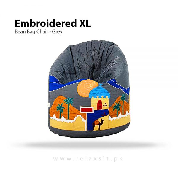 Relaxsit-Products-Embroidered XL Bean Bags, www.relaxsit.pk