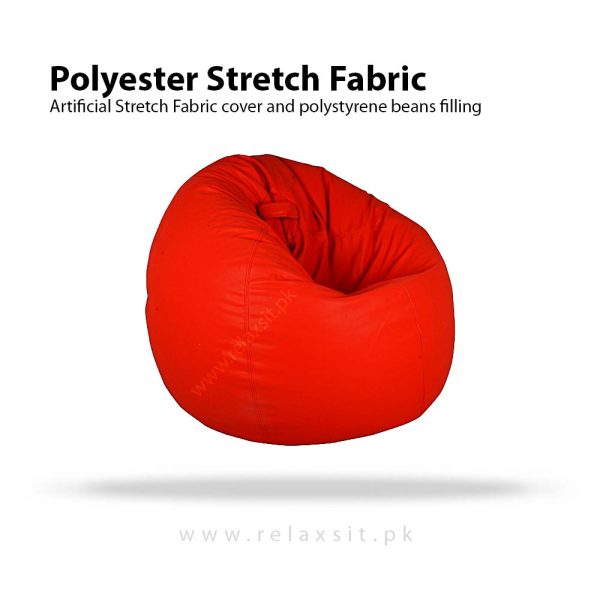 Relaxsit-Products-05-01, Stretch Fabric Bean Bag Xl Chair - Red, www.relaxsit.pk
