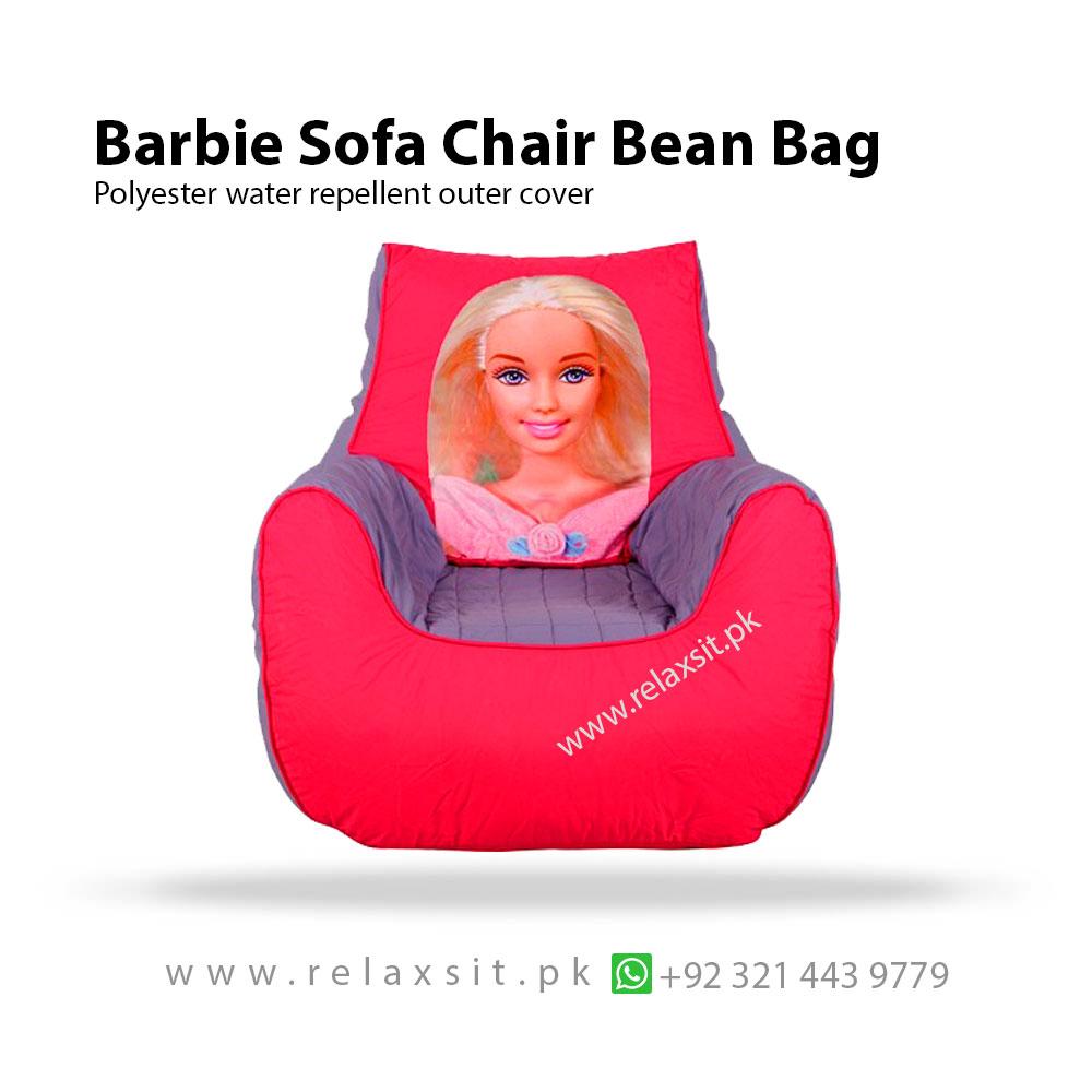 Groovy Barbie Sofa Chair Bean Bag Relaxsit Short Links Chair Design For Home Short Linksinfo