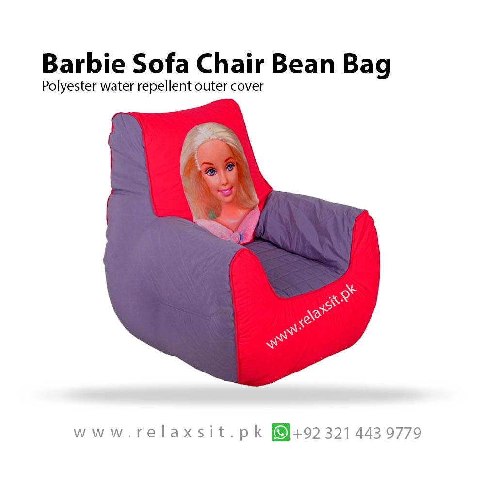 Stupendous Barbie Sofa Chair Bean Bag Relaxsit Short Links Chair Design For Home Short Linksinfo