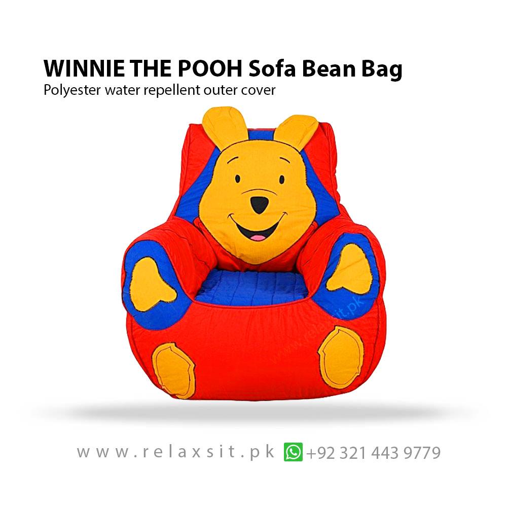 Winnie The Pooh Sofa Chair Bean Bag – RelaxSit