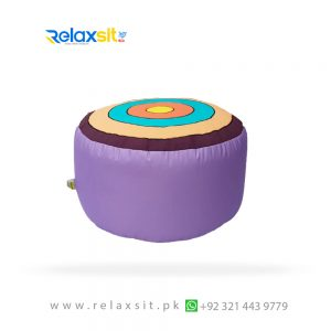 03-Relaxsit-Products-02 colorful round shape circles Bean Bag Stool