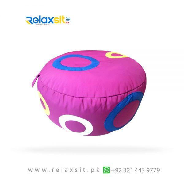 02-Relaxsit-Products-02 circle foot bean bag stool